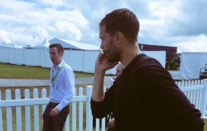Video: Laughter as Jamie Dornan and Jimmy Nesbitt tee off at Irish Open Pro Am