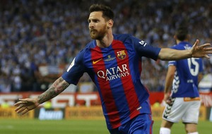 Barcelona have released some incredible videos of Lionel Messi to celebrate his new contract