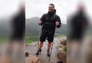 High heel hiker walking on air after Ben Nevis expedition