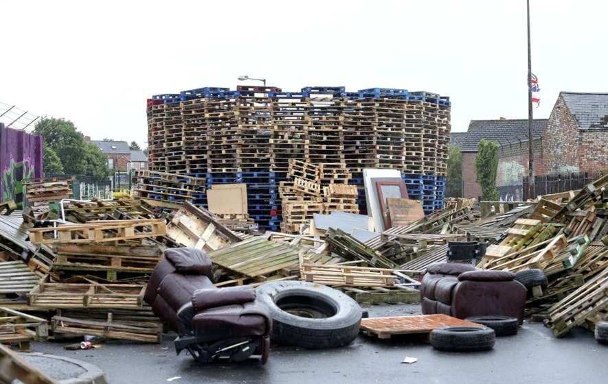 Belfast council granted injunction banning bonfire material being brought to four contentious sites