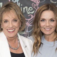 Geri Horner joins Dame Esther Rantzen to continue late pal George Michael's Childline support