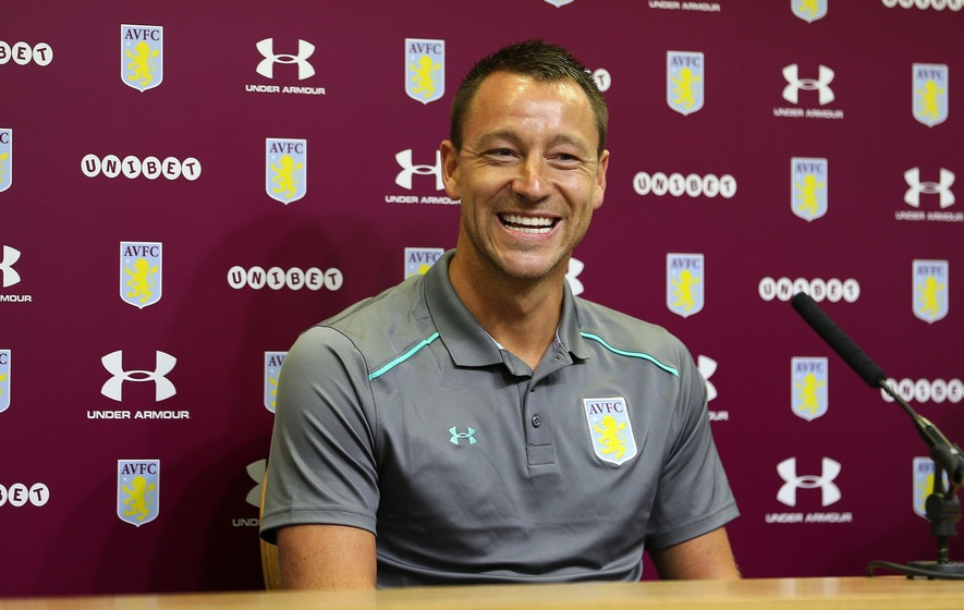 John Terry belted out Stand By Me for his Villa initiation and it was surprisingly decent