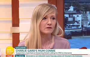 Baby Charlie Gard isn't in pain, says mother