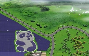 This panda-inspired power plant will provide green electricity to China