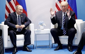 Trump says 'very positive things' in store for Russia and US following Putin meeting