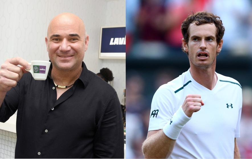 Tennis legend Andre Agassi just smashed a myth about Andy Murray