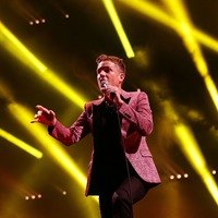 The Killers entertain sell-out crowd at Hyde Park