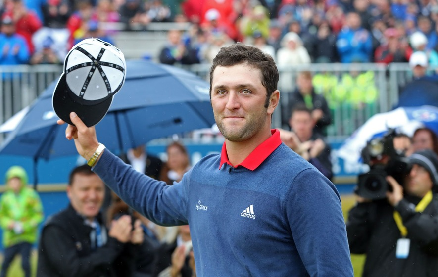 Rahm shoots another 67, tied for lead at Irish Open