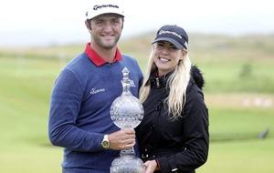 Spaniard Jon Rahm seals six-stroke victory at Irish Open in Portstewart
