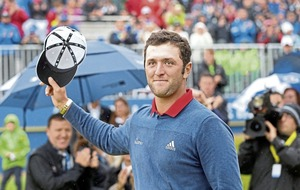 Spaniard Jon Rahm seals six-stroke victory at Irish Open in Portstewart