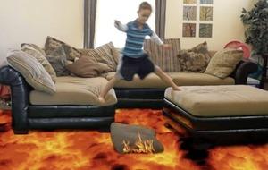Leona O'Neill: Remember, everyone – the floor isn't really lava