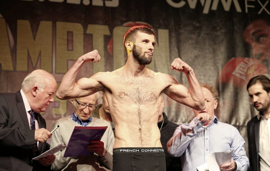 Anthony Cacace confident ahead of biggest fight of life with British champion Martin J Ward