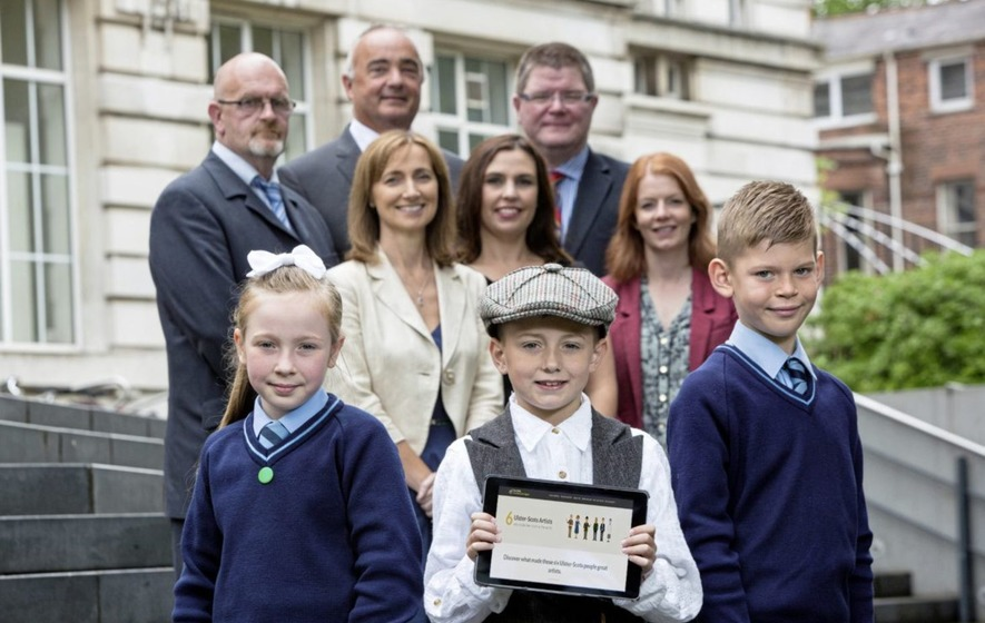 Ulster-Scots e-learning tool is the picture of creativity