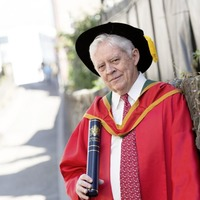 US businessman who helped bring peace and prosperity to Derry honoured by Ulster University