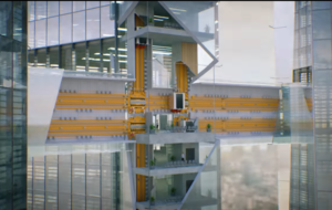Sideways lifts are here and we're one step closer to living in Willy Wonka's Chocolate Factory
