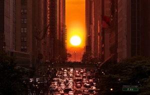 Manhattanhenge: An incredible sunset is coming to New York