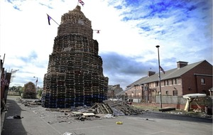 Video : 'Dial down the rhetoric' against bonfires, says Arlene Foster