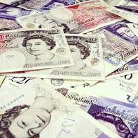 Sterling falls against dollar and euro as Bank of England fails to give clues on rate hike