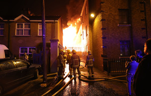 40 bonfire-related incidents keep fire service 'exceptionally busy'