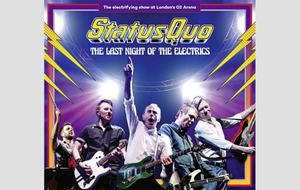 Albums: The Last Night Of The Electrics sees Status Quo at full throttle