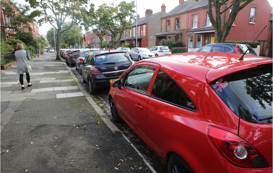 Belfast drivers' 60 hours a year spent hunting for a space