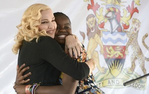 Madonna says Malawi hospital wing is 'just the beginning'