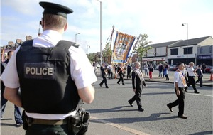 Ardoyne parade passes without protest for first time in almost two decades