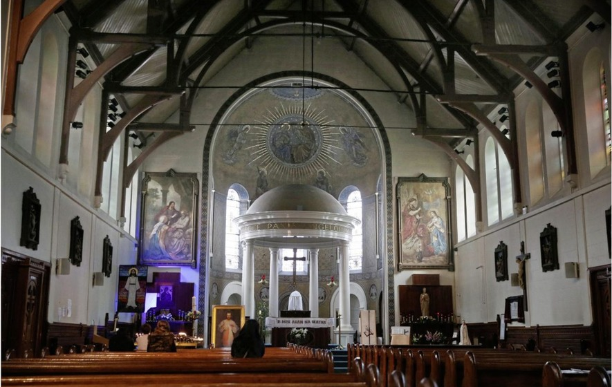 masses will not be celebrated at oldest catholic church in belfast