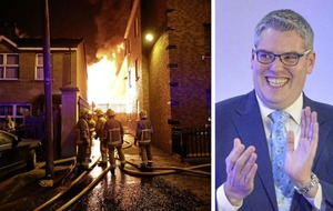 DUP's Gavin Robinson silent on east Belfast bonfires