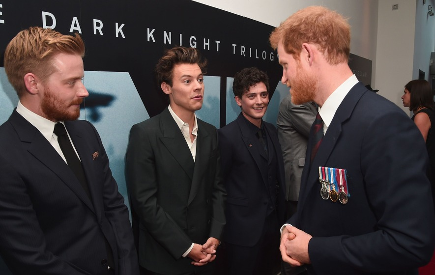 When Harry met Harry: Styles and the Prince at Dunkirk premiere