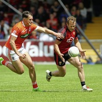 No more Mr Nice Guy: Captain Darren O'Hagan happy to see Mournemen mixing it with the big boys