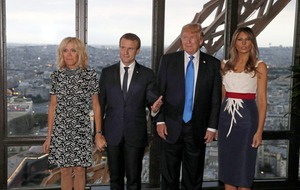 Macron hails US 'friendship across the ages' as Trump sees Bastille Day parade