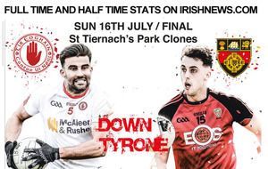 Ulster SFC final: The Stats: Down v Tyrone
