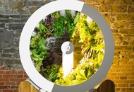 Rotating indoor garden lets you grow herbs and veg without compromising on space