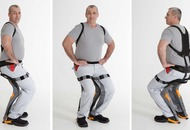 Chairless Chair: A wearable device that will let you sit anywhere you want