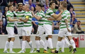 Early goals give Celtic victory over Linfield in stormy Windsor Park encounter