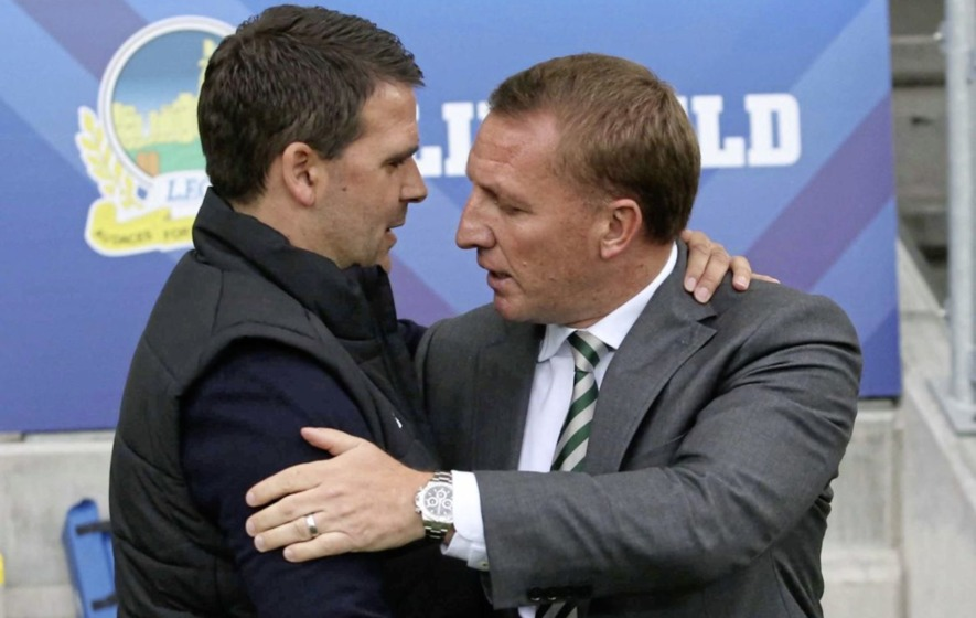 Brendan Rodgers admits he feared for safety of Celtic players at Windsor Park