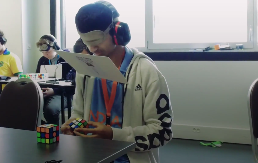 World Rubik's Cube Championship heats up in Paris