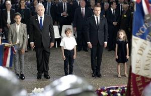 Emmanuel Macron denounces France's role in Holocaust