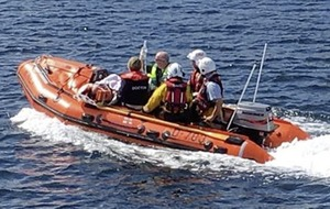 Coastguard rescues cyclist after 12ft fall on the Antrim Coast