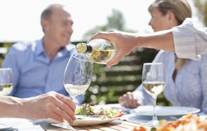Everybody at panic stations, because global warming could make wine more expensive