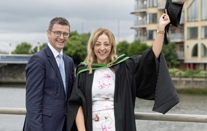 Sky's the limit for first-ever 'earn-as-you-learn' graduate at Kainos