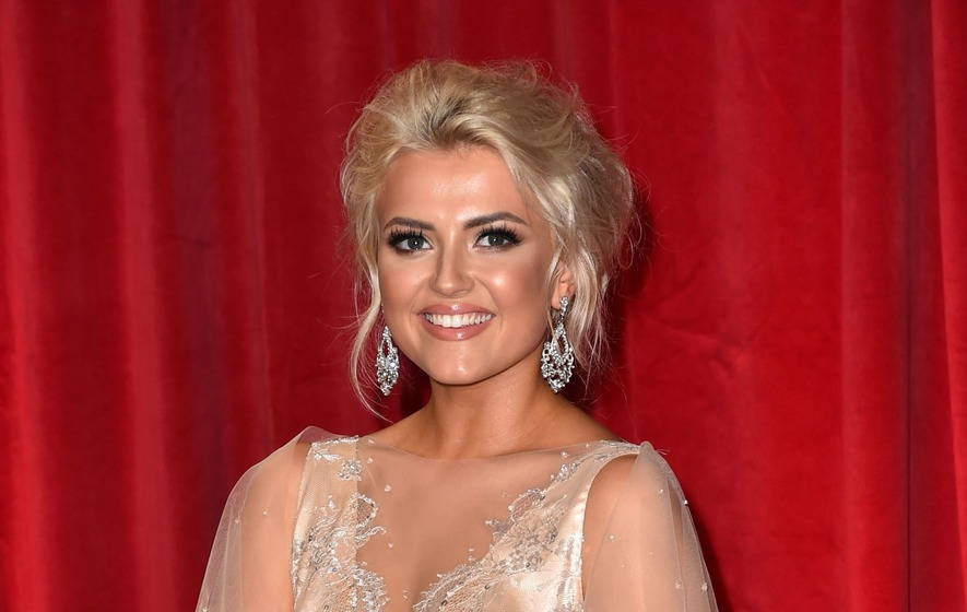 Corrie's Lucy Fallon is looking forward to marriage and babies with her boyfriend of 18 months