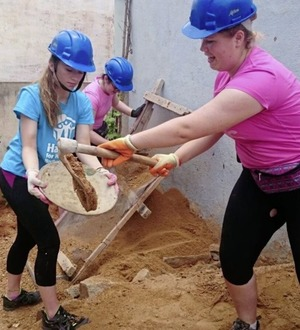 Living Youth and Habitat for Humanity: Building a faith in action