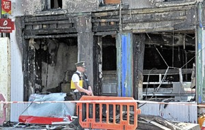 "Banbridge pizzeria ""gutted"" after second suspected arson in two weeks"