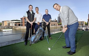 US golf technology giant pitches up at new Belfast base
