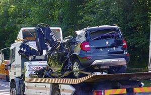 Man in his sixties dies in one-car Co Antrim crash