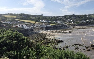 Major flash flooding hits coastal village in Cornwall