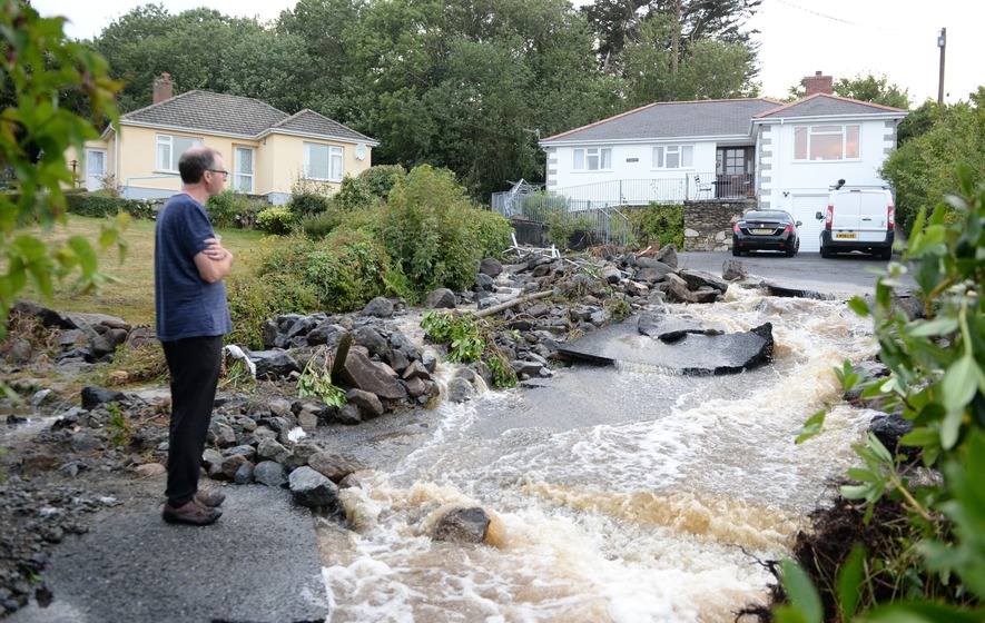 Here's what we know so far about the flash floods in Cornwall