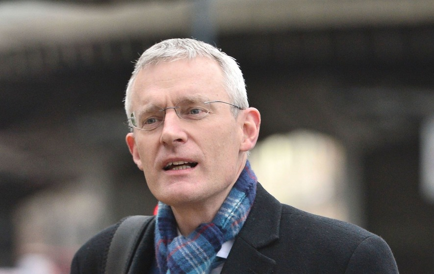Jeremy Vine forced to defend wages by on-air caller